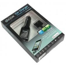 Dexim DCA022A-B Black  Автомобильное ЗУ, черная