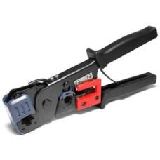 Инструмент LPT-13 для обжимки RJ-45 (8P8C) и RJ-12/11 (6P6C), резиновые ручки