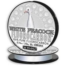 Леска Balsax Peacock 30m флуорокарбон 0.12mm White