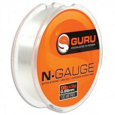 Guru Леска N-Gauge 4lb (0.13mm) 100m