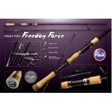 Спиннинг CRAZY FISH FREEDOM FORCE FF692ULT 2,10см 1,5-7g