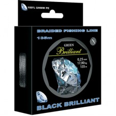Плетеный шнур Black Brilliant 0,06mm 135m