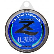 Леска Sunline SUPER Z HG 50м #0.3/0.09мм 0,72кг