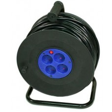 удлинитель сетевой LogicPower spool катушка 50M 2*2.5mm2