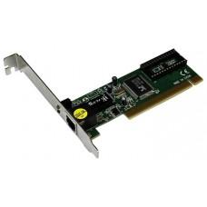Сетевой адаптер внутренний  LogicPower (LP-8139D) 10/100 Mb/s, PCI 2.2, 32 бит, Realtek