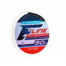Леска Flagman F-Line Ice Red 30м 0.10мм