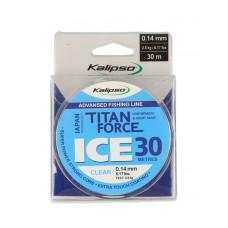 Леска Kalipso Titan Force Ice CL 30м 0.12мм