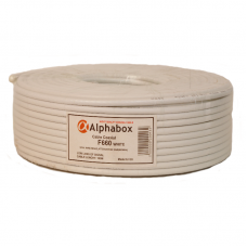 Кабель Alphabox F660 White 100м