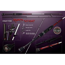 Спиннинг CRAZY FISH ASPEN STAKE AS772MH  10-35g 235cm
