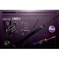 Спиннинг CRAZY FISH LEVIN CFL-6`9 -L-T 3-15g 210cm