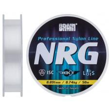 Леска Brain NRG 0,091 mm 0,74 kg