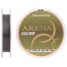 Шнур Favorite Arena PE 150м (silver gray) #0.2/0.076mm 5lb/2.1kg