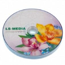 LS-MEDIA DVD-R 4.7Gb 8x cake 10 Букет