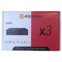 Спутниковый HD ресивер AlphaBox X3 метал 3g 2-USB IPTV