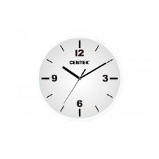 Часы настенные Centek СТ-7102 White белый