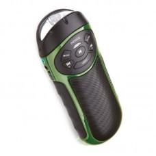 Портативная акустическая система MICROLAB D862BT зеленая (3W RMS Bluetooth microSD фонарь, крепление на велосипед)