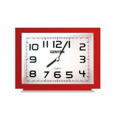 Будильник Centek СТ-7202 (красный) БОЛЬШИЕ ЦИФРЫ шаговый ход, кварц