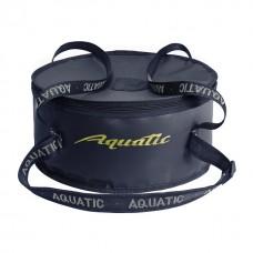 Ведро Aquatic В-03С для замешивания корма с крышкой