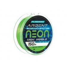 FLAGMAN Леска Ardent Neon 150м 0,30мм 11,9кг/26,2lb