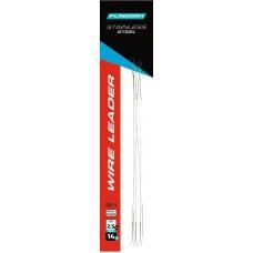 FLAGMAN Поводок скрутка  Wire Leader стальной 2,5кг 14см 0,15мм 5шт