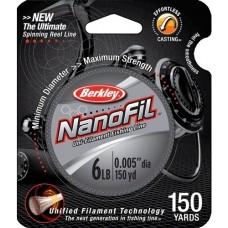 Шнур Berkley NanoFil Салатовый 125m 0.20mm 12.649kg