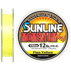 Шнур Sunline Momentum 4x4 150м 0.175мм 12Lb/5,6кг