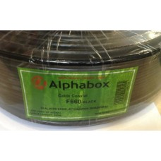 Кабель Alphabox F660 Black 100м