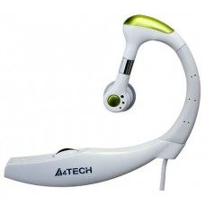A4 Tech HS-12-1 Белый  HS-12-1 iChat, Моногарнитура c микр.White
