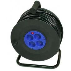 удлинитель сетевой LogicPower spool катушка 50M 2*2.5mm2