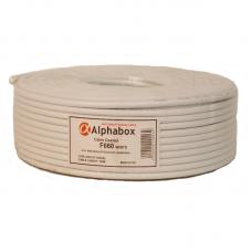 Кабель Alphabox F660 White 100м