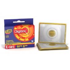 CD-R07 Digitex 66mb E-card 24X в пл. конверте (10pcs) \200
