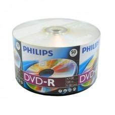 Philips  DVD-R 4.7Gb 16x bulk 50