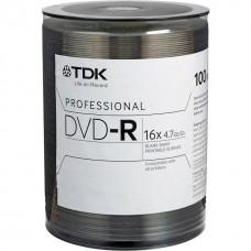 TDK  DVD-R 4.7Gb  16x bulk 100
